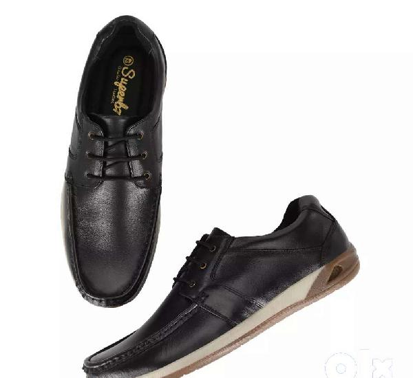 Superb7 mens leather shoes and sports shoe