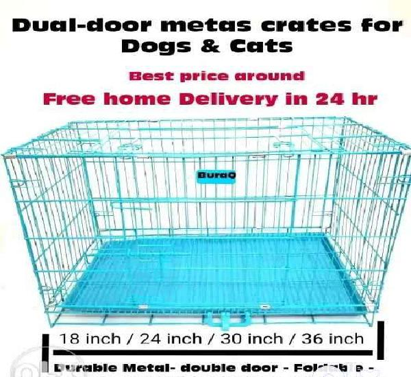 Wholesale price premium metal cages for cats & dogs with