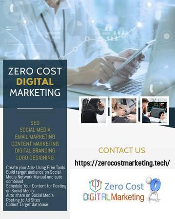 Zero cost digital marketing workshop - lessons & tutoring