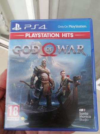 God of war ps4 games cd - video gaming - by owner
