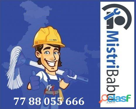 Plumber, Electrician, Ac Service, Painter, Carpenter, Interior design, Tiling, Masonry