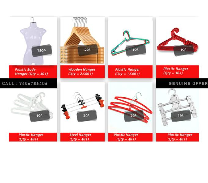 8 types shop more wooden & plastic hangers for sale