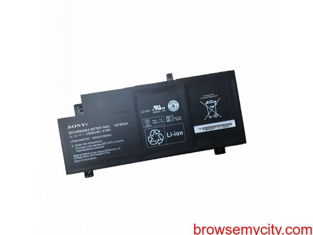 Batterie originale Sony VGP-BPS34 VGP-BPS34 11.1V 3650mAh