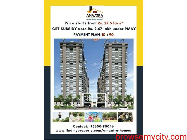 Book apartments in amaatra homes with price starting from