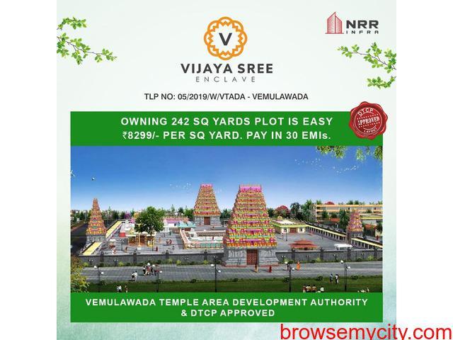 Plot for sale in vemulawada | vijaya sree enclave