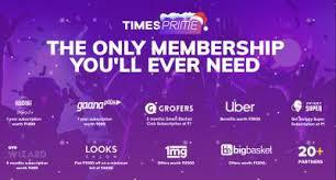 Times prime is a digital membership subscription service