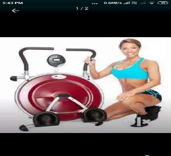 Abcircle 6pack gym machine 1y old urgent sale