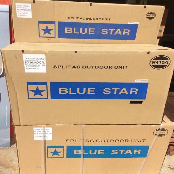 Blue star 1ton 3star inverter split ac whats app 8929303862