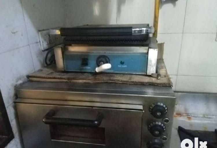 Equipments for sandwich and pizza shop for sale
