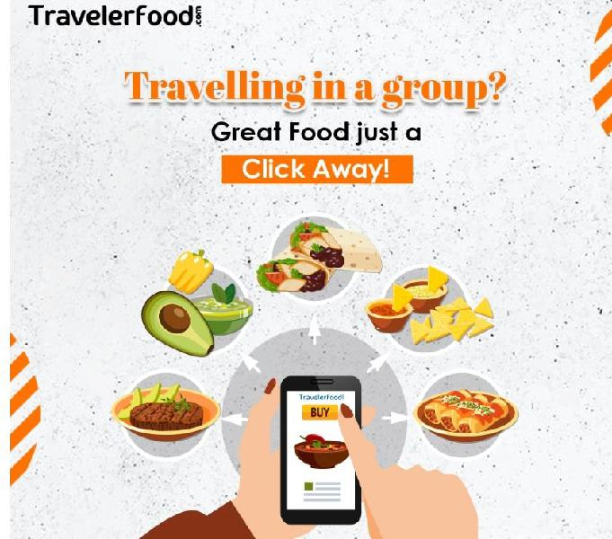 Food delivery in train at ratnagiri railway station