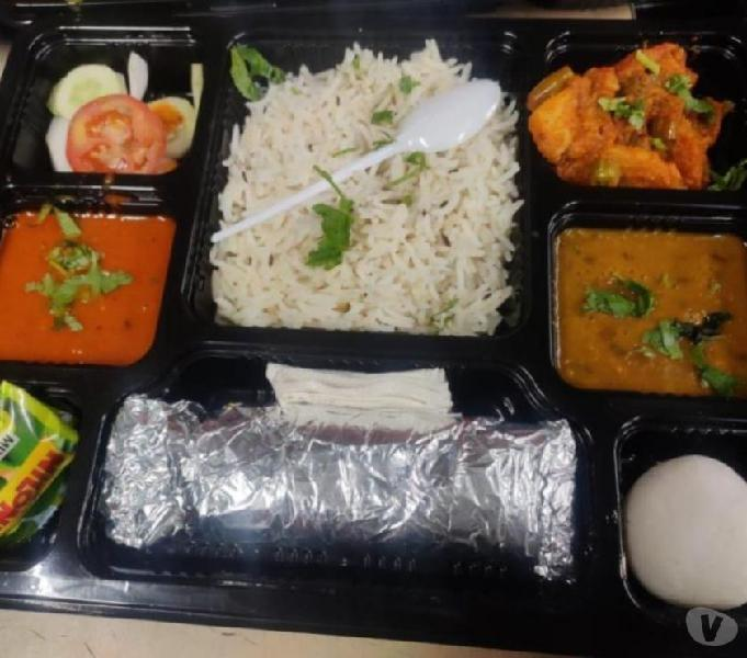 Food delivery in train at rejendranagar terminal station