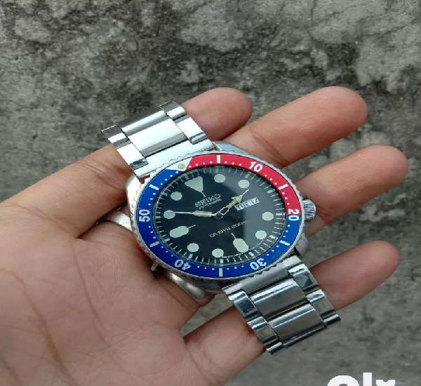 Genuine seiko automatic divers 200m 7s26-0030 movement japan
