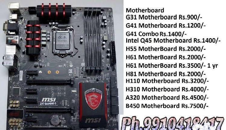 Led ram cpu motherboard laptop pc harddisk graphics card cod
