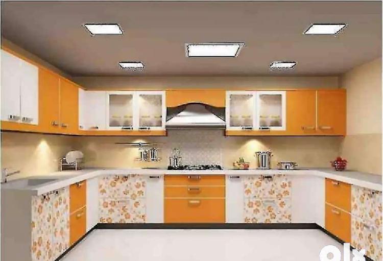 Modular kitchen and wardrobes specieliest in prayagraj