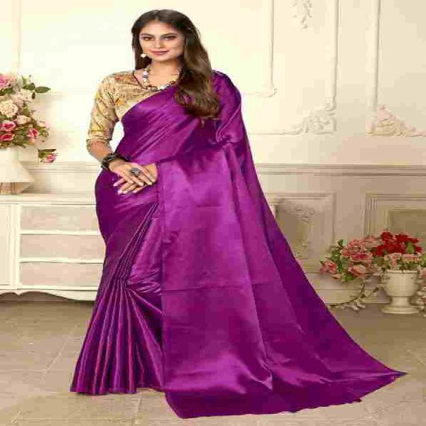 Shop japan satin saree online from jheaps shopping