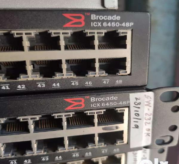 Ten gigabit switch with 48 port gigabit poe at lowest rate