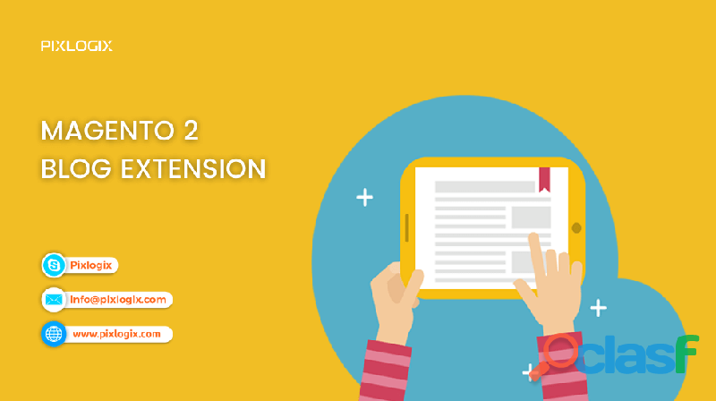 Are you looking for Magento 2 Blog Extension?