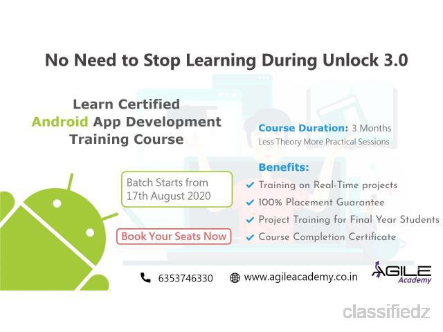 Learn android training course from the leading it training