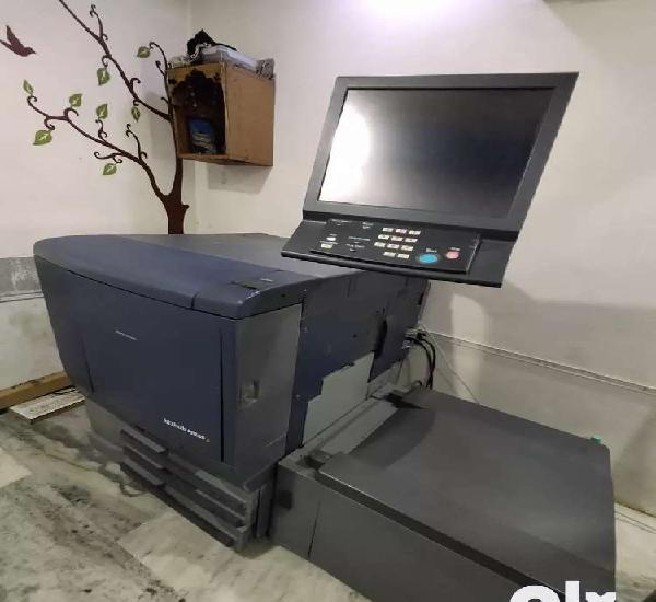 Konica minolta c 70 hc with lab setup