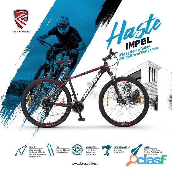 The best hybrid bicycle manufacturing company in india