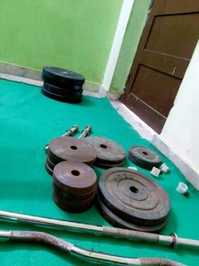 Gym equipment up to 110kgs