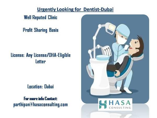 Reputed clinic looking for dentist-dubai - healthcare