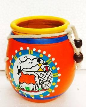Terracotta pots diwali gifts/ table top/event gifts /