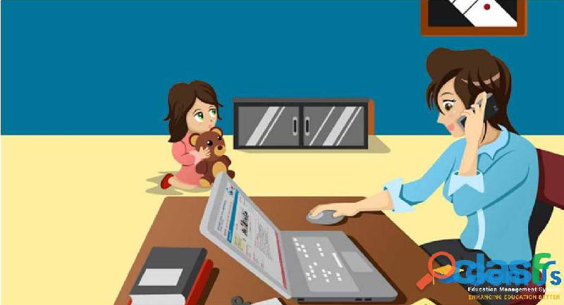 School app for admin, teachers, principal