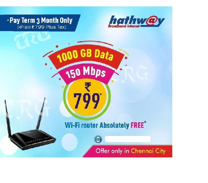 Hathway chennai fiber broadband