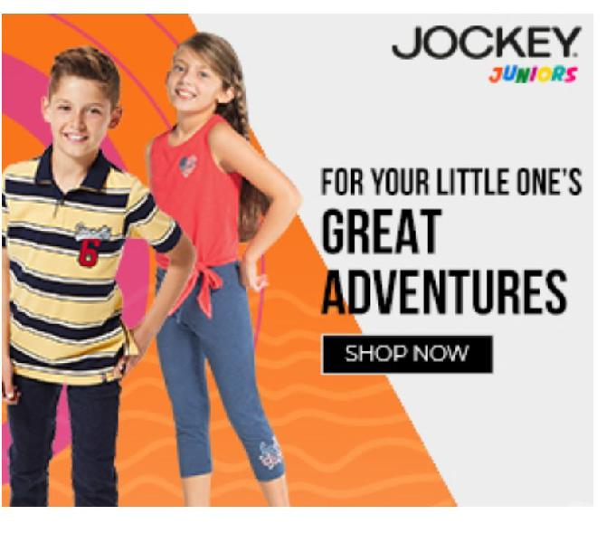 Jockey india is one of the most selling clothing brand