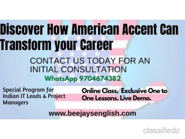 Online tutoring american acccent/communication classes/live