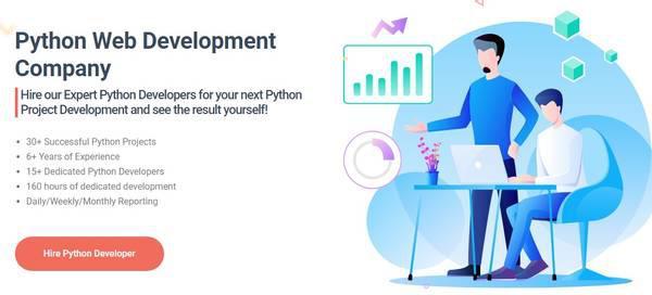 Hire python development company - python web development