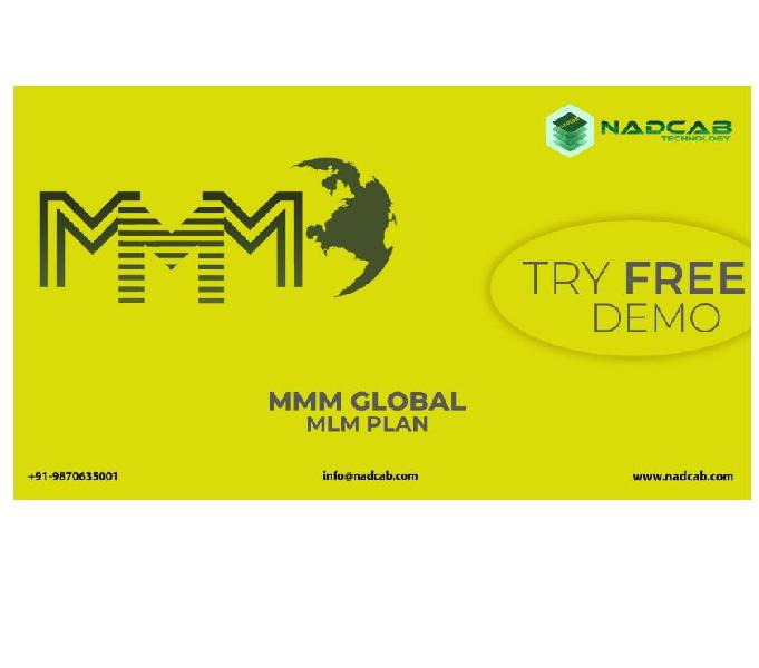 Mmm global plan mlm software in india | mmm compensation