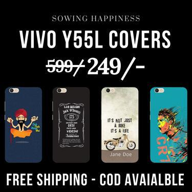 Free shipping cod avail vivo y55l covers sowing happin
