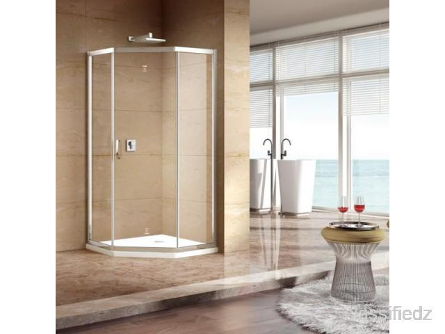 Top shower enclosure, shower doors | dabbl mumbai