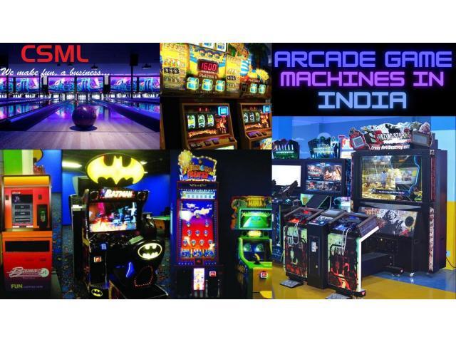 Arcade game machines in india