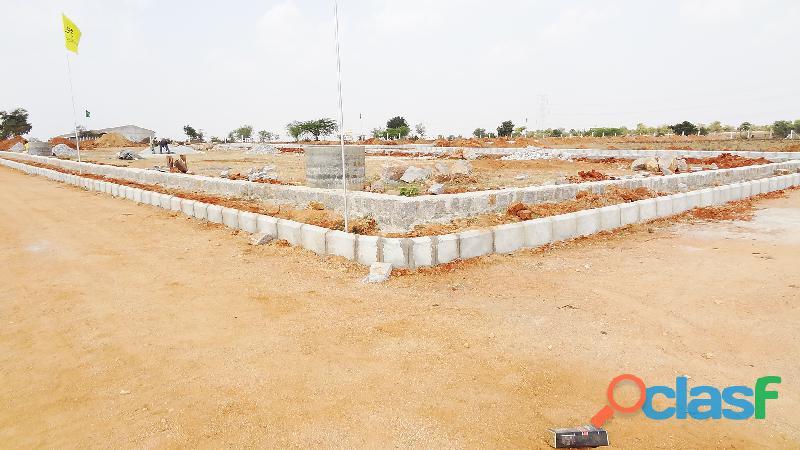 Corner plot for sale in Kothur municipality