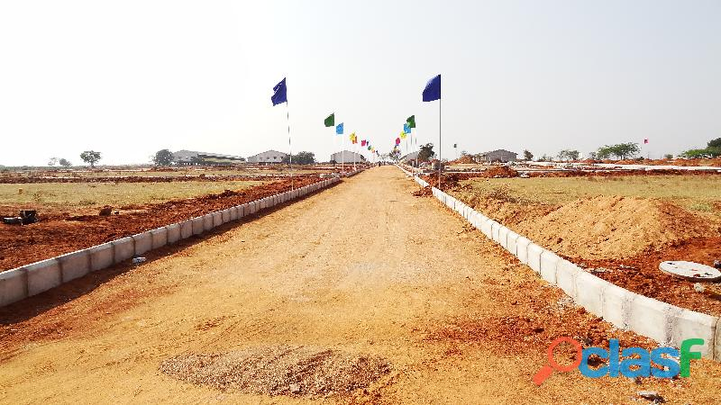 South east facing plot in Kothur municipality