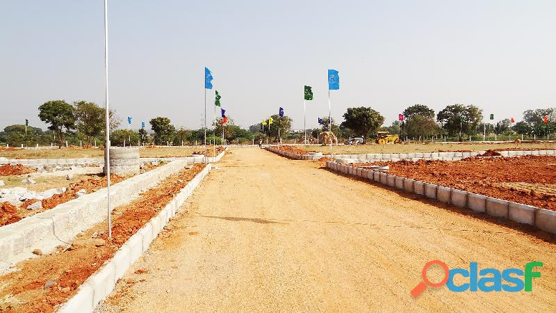 West facing plot for sale in Kothur municipality