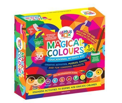 Buy genius box educational magical colour's kits online -