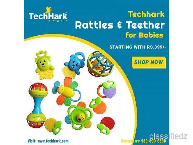 Techhark rattles and teether for babies ahmedabad