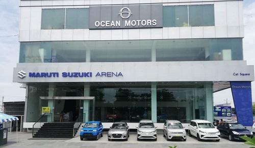 Visit ocean motors indore car showroom to grab best offers