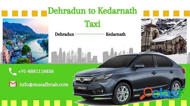 Dehradun to Kedarnath Taxi Fare, Dehradun to Kedarnath Cab Service