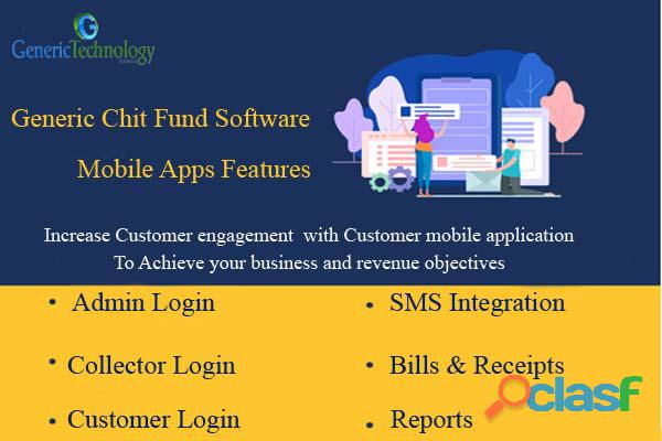 Generic Chit Fund Software Mobile App Features