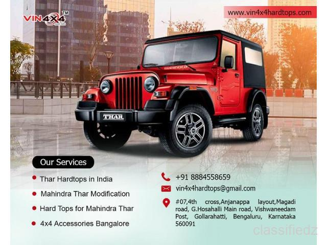 Best mahindra thar modifications and equipments in india -