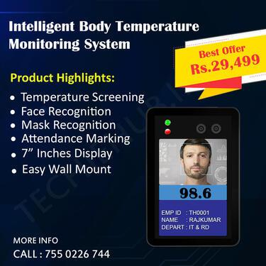 Body temperature Monitoring System