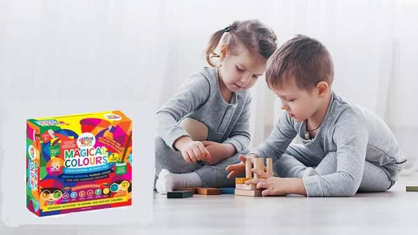 Buy best educational kits for 3 years old at genius box -