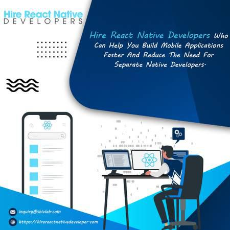 Hire react native app developer services  hire react