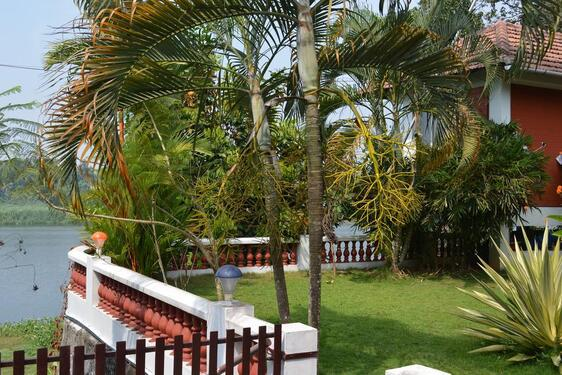 Luxurious east facing 3 bhk river view gated community villa