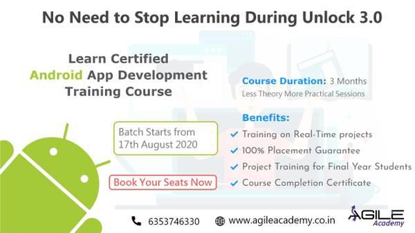Learn android training course from the best android